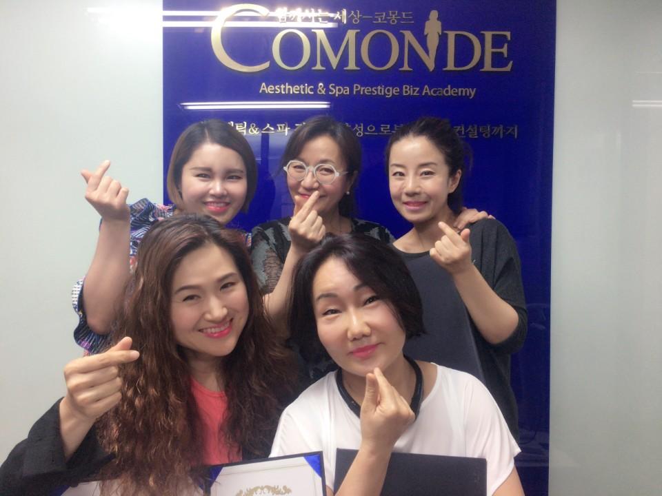 17.5.21 부종아웃 림프MLD+JH윤곽술 졸업식!! 박정현원장님의 매력에 빠지신 선생님들입니다^^